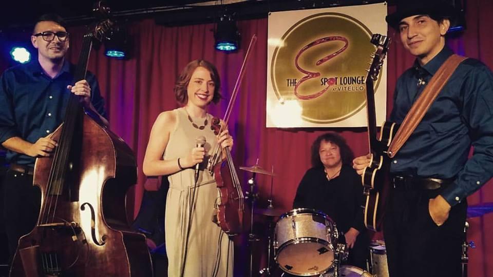 Caliluna Quartet at Oeno Vino