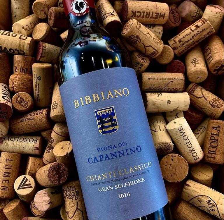 Bottle of Bibbiano